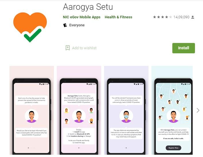 Aarogya Setu App Details